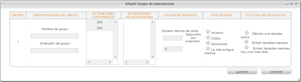 Grupo Ext-Config